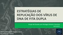 ESTRATÉGIAS DE REPLICAÇÃO DOS VÍRUS DE DNA DE FITA DUPLA