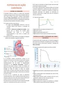 Resumo_Potenciais de Ação Cardíacos