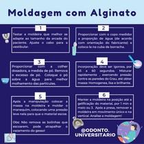 Checklist Moldagem Com Alginato {Por @odonto.universitario}