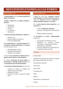 Hepatoesplenomegalias febris