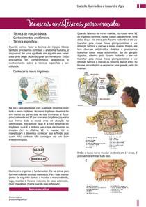 Técnicas anestésicas para a maxila