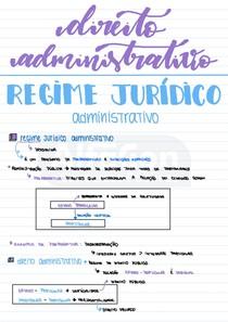 02 Regime Jurídico Administrativo - Resumo