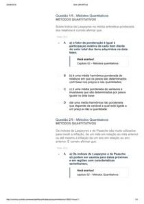 apol 2 metodos quantitativos