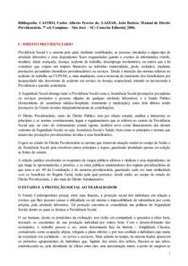 01 - DIREITO PREVIDENCIÁRIO - 1ª Prova