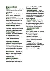 Carcinogênese (1)