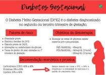 Mapa mental diabetes gestacional