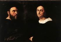 Raphael Sanzio - Double Portrait