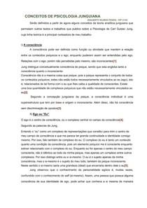 CONCEITOS DE PSICOLOGIA JUNGUIANA
