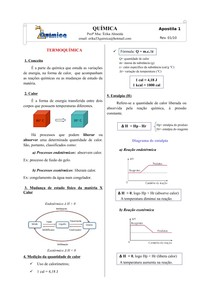 Apostila 1 - Termoquímica