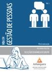 MBA em Gestão de Pessoas SELEÇÃO E DINÂMICA DE GRUPO