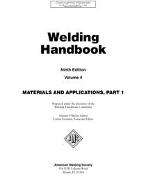 aws welding handbook 9th edition pdf
