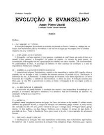 Pietro Ubaldi   Evolução e Evangelho