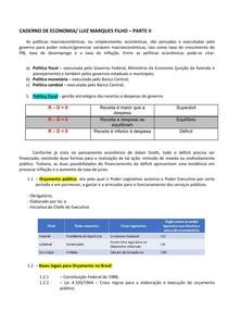 FBDG - CADERNO DE ECONOMIA (SEGUNDA UNIDADE)/ LUIS MARQUES