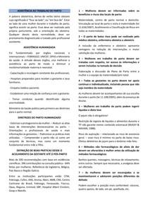 ASSISTÊNCIA AO TRABALHO DE PARTO
