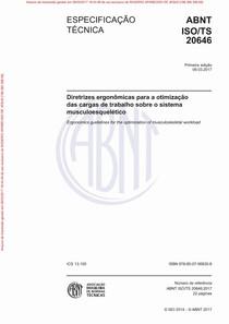 ABNT ISO TS20646   Arquivo para impress+úo