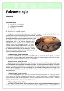 Paleontologia 8 - Extinções em massa