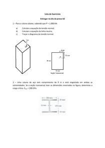 TRABALHO   Lista de Exercícios   para A2   ResMat II (1)
