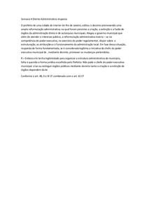 Semana 4 Direito Administrativo resposta