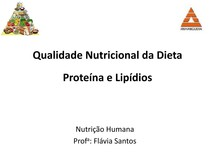 AULA 5   Qualidade nutricional da dieta proteína e lipídio (1)
