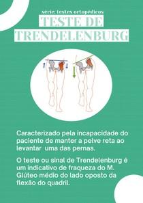 Teste de Trendelenburg - Flashcard