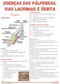 Doenças das pálpebras, vias lacrimais e órbita