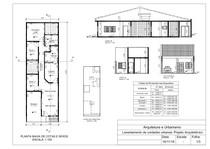 Arquitetura e Urbanismo - Exemplo de Projeto Arquitetônico