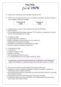 Lei n 8 142-90 - Legislação do SUS