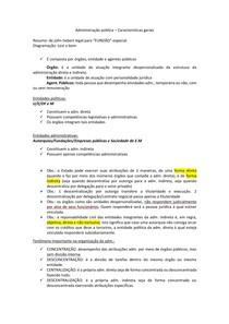 Organização da Adm direta e indireta - resumo para o TCE AM.pdf