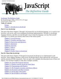 Java Script] O'Reilly JavaScript The Definitive Guide - Java