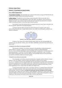 Conteúdo - Prop das Tabela Periódica