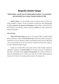 Biografia Getúlio Vargas