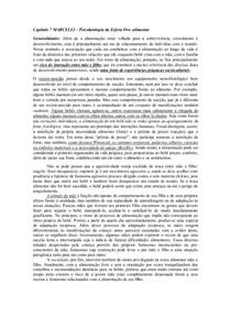 Psicopatologia da esfera Oro-alimentar - Capitulo 7 MARCELLI
