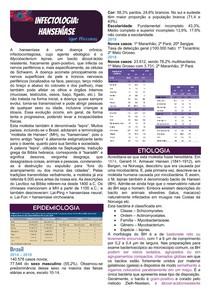 Infectologia - Hanseníase