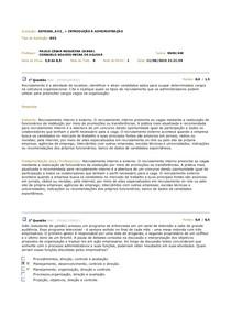 AV2 INTRODUÇÃO À ADMINISTRAÇÃO 2015.1