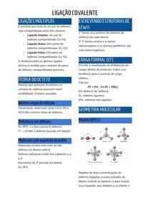 Ligação Covalente Resumo