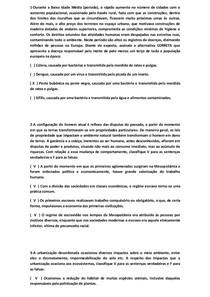 QUESTÕES OBJETIVAS DE SOCIEDADE E MEIO AMBIENTE (2)