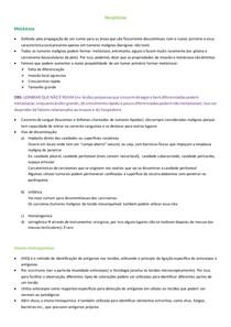 Metástase e Imunoistoquímica