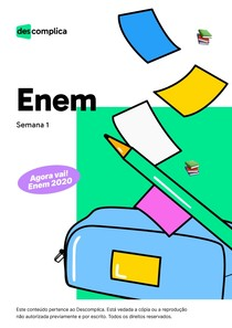 eBook - Enem - semana 1