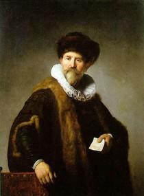 Rembrandt -Portrait of Nicolaes Ruts
