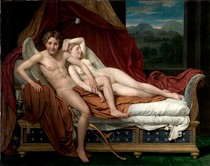 Jacques Louis David - Cupid and Psyche