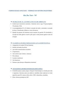 Farmacologia do sistema digestório