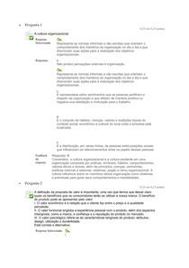 Questionário Adm por Cat de produtos Unid III