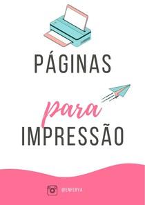 Páginas para impressão