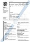 NBR 12214 NB 590 - Projeto de sistema de bombeamento de agua para abastecimento publico