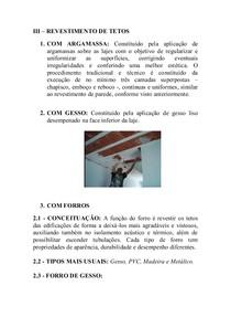 REVESTIMENTO DE TETOS