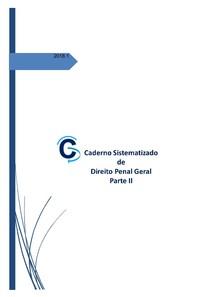 Caderno Sistematizado de Direito Penal Geral   Parte II (2018)