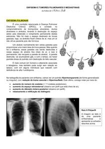EXAMES DE IMAGEM - ENFISEMA E TUMORES PULMONARES (POR REBECA ZILLI)