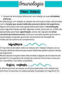 Classes de Anticorpos