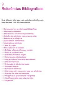 Referências de um artigo científico [Artigos científicos_Redigir, Publicar, Avaliar]