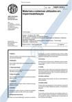 NBR 08083   1983   Materiais de Impermebialização
